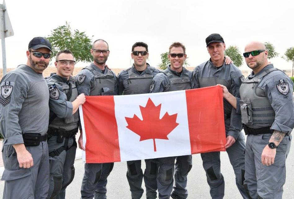 L'Unité tactique du SPO à participer à la compétition internationale SWAT à Dubaï