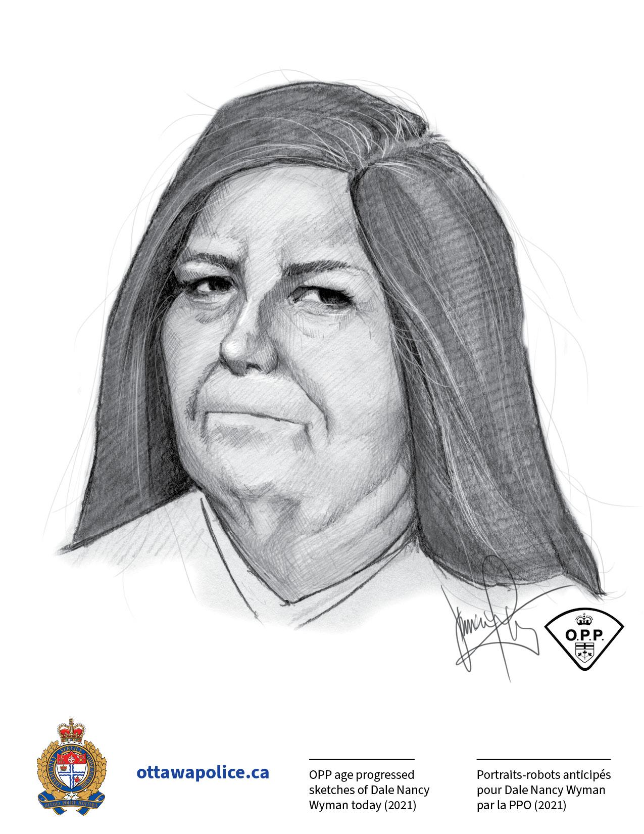 Dale Wyman Age-Progressed OPP Sketches1