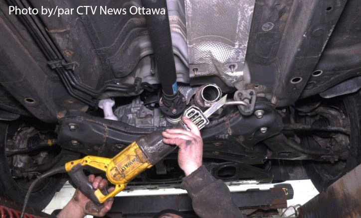 Catalytic Converter photo with credit to CTV