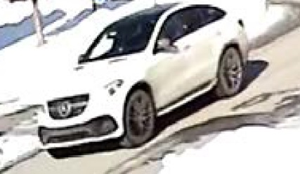 White Mercedes