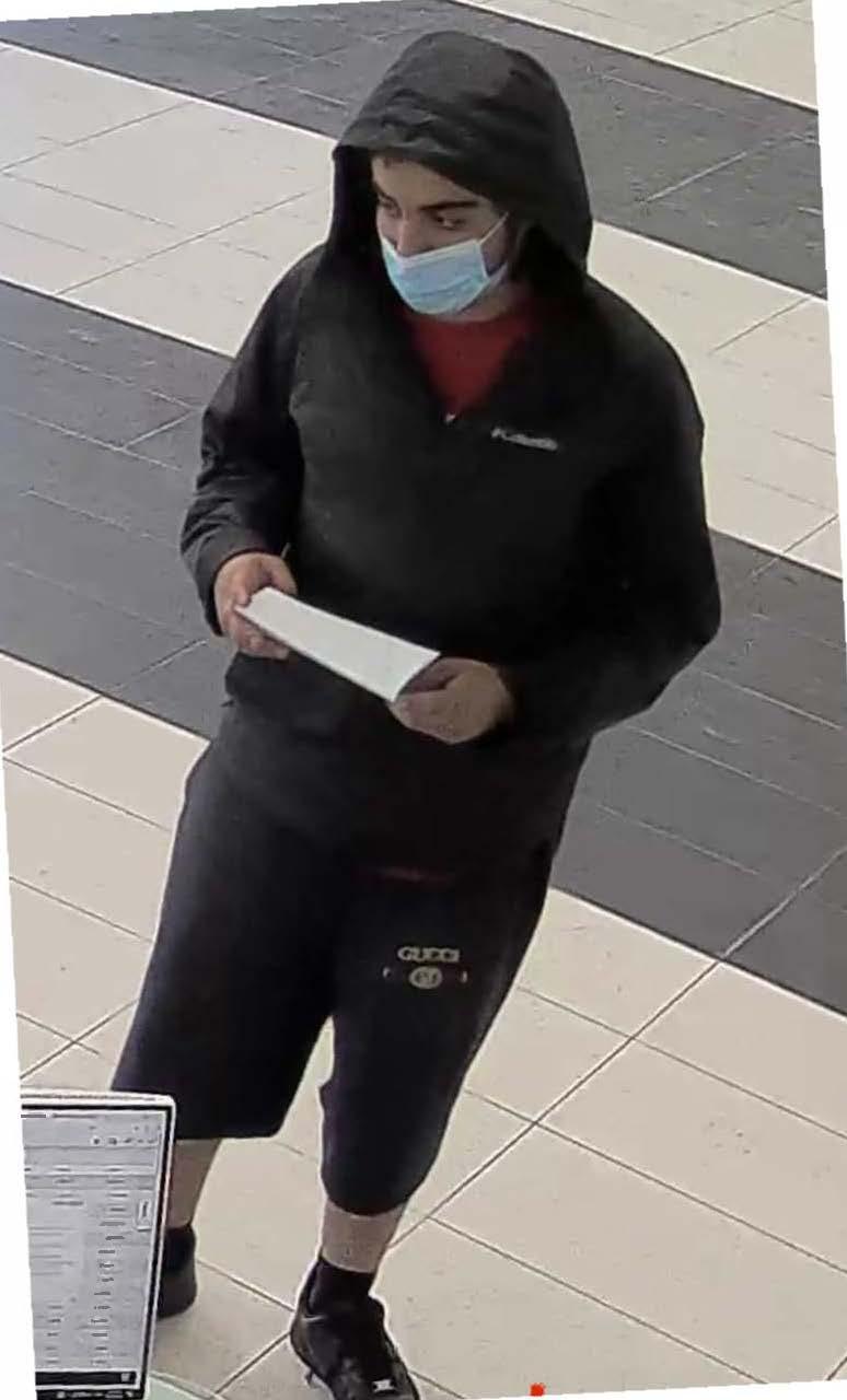 Suspect 1 to ID - Theft MV