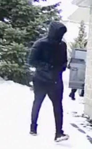 Suspect 2 walking