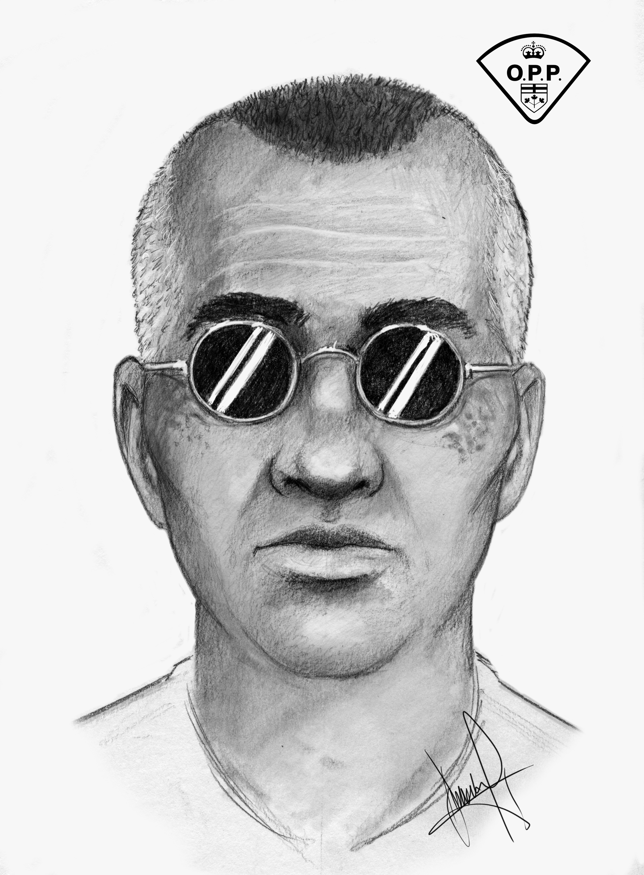 Suspect composite sketch OPP re Attempt Abduction