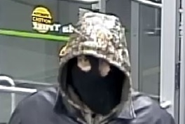Suspect Klondike robbery 1