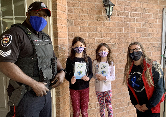 Sgt. Archer is always looking for ways to give back to the community