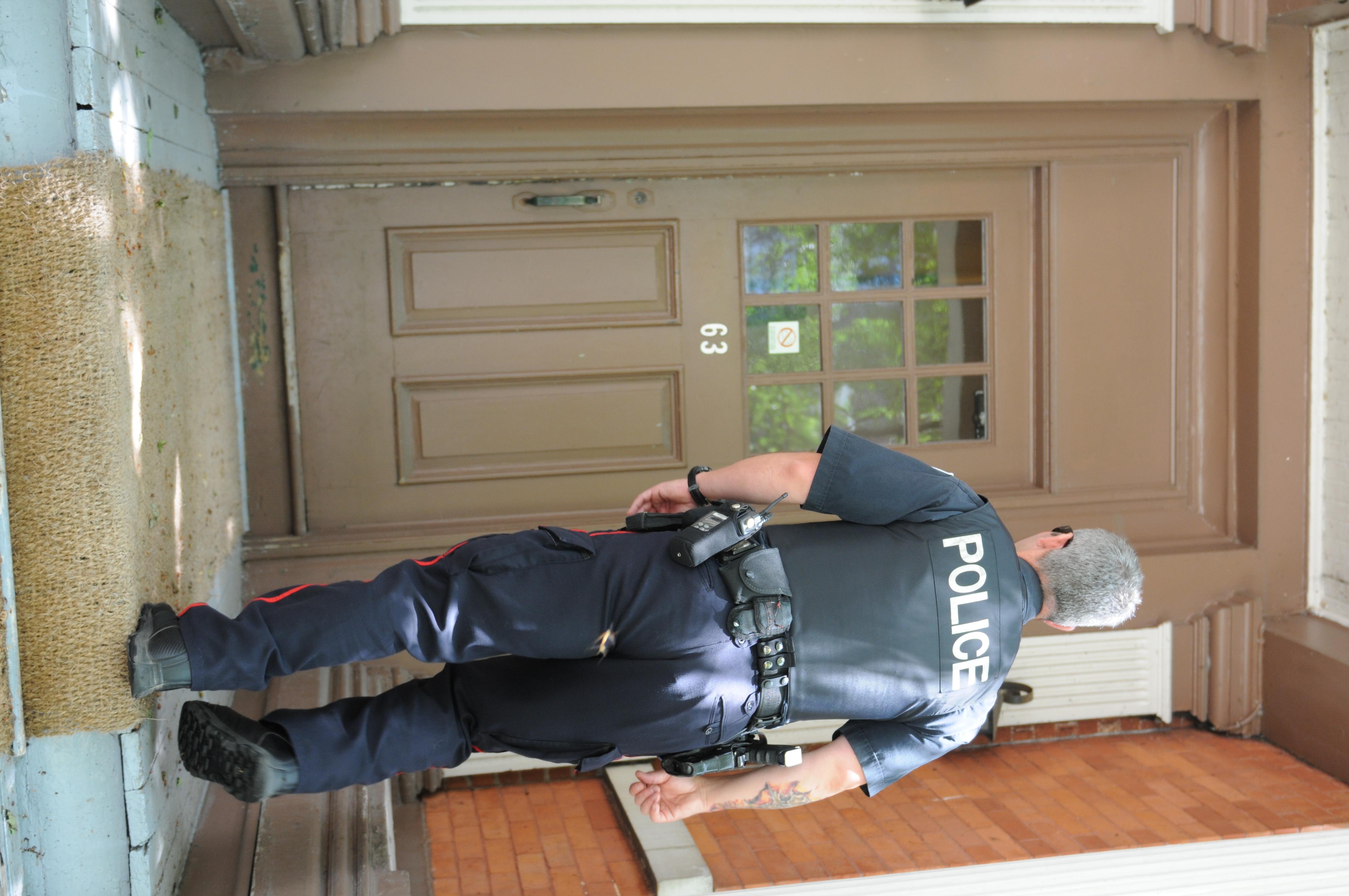 Agent de service de Police d'Ottawa