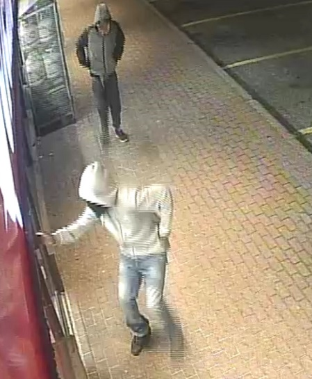 Robbery suspects 1 and 2