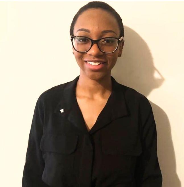Cornelia Gillespie-Joseph, one of the two 2020 recipients of the Thomas G Flanagan S.C scholarship