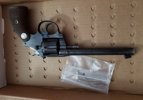 Elmvale Acres seized gun 1